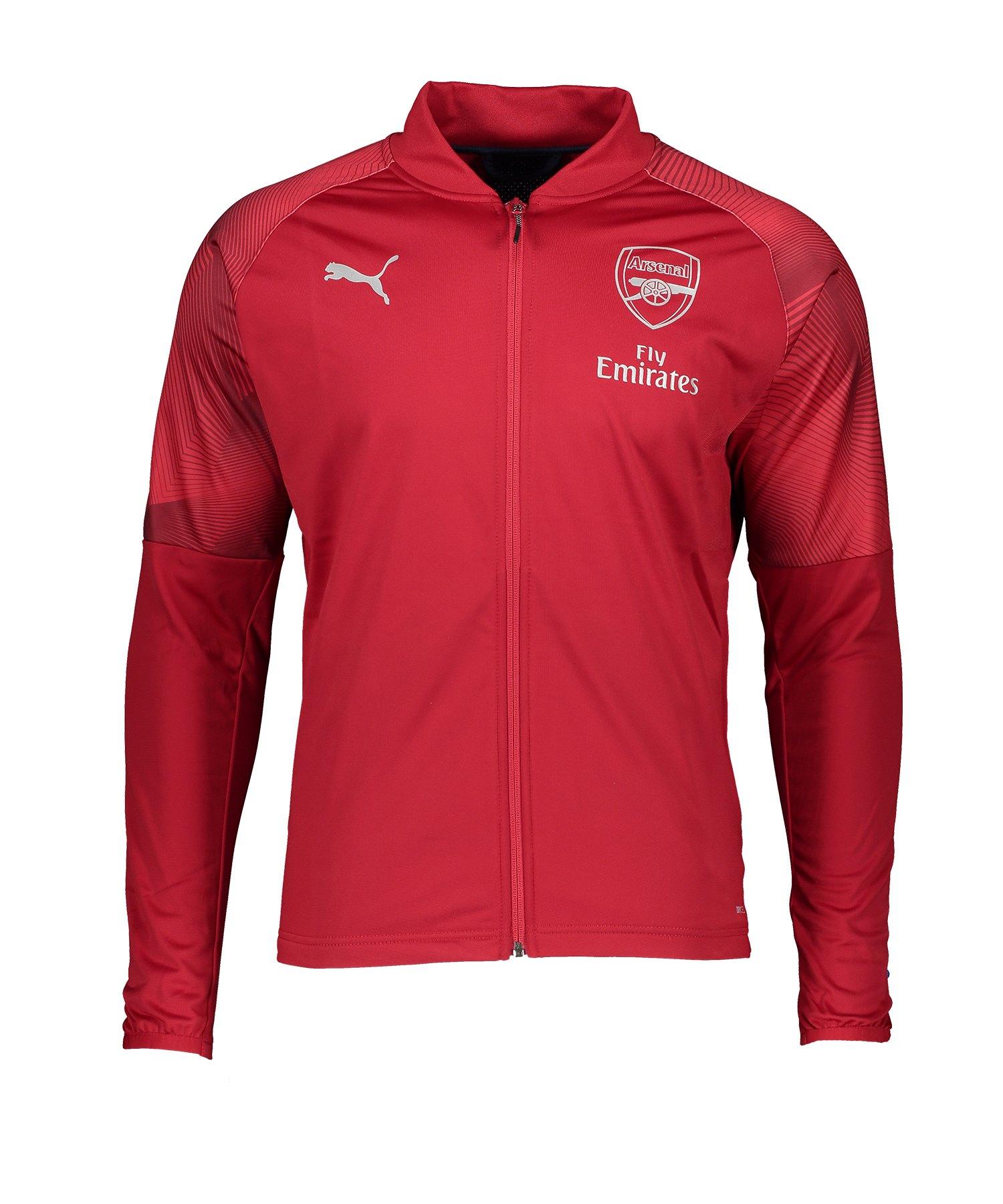 PUMA FC Arsenal Stadium Jacket Jacke Rot F01