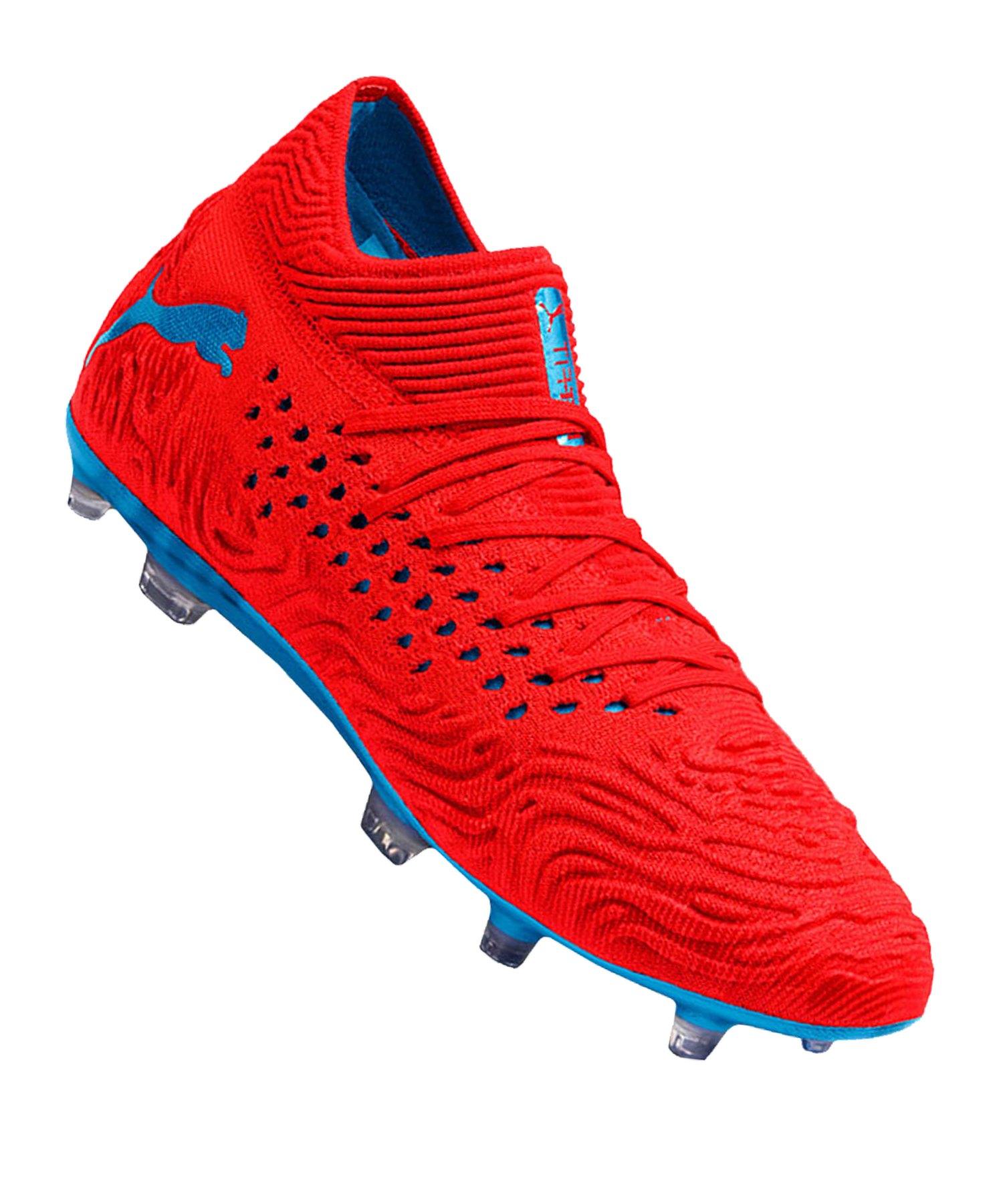 2c88a4995f PUMA FUTURE 19.1 NETFIT FG/AG Rot F01 |Fussballschuhe | Rasen | Ballgefühl  | Nocken | 10111021