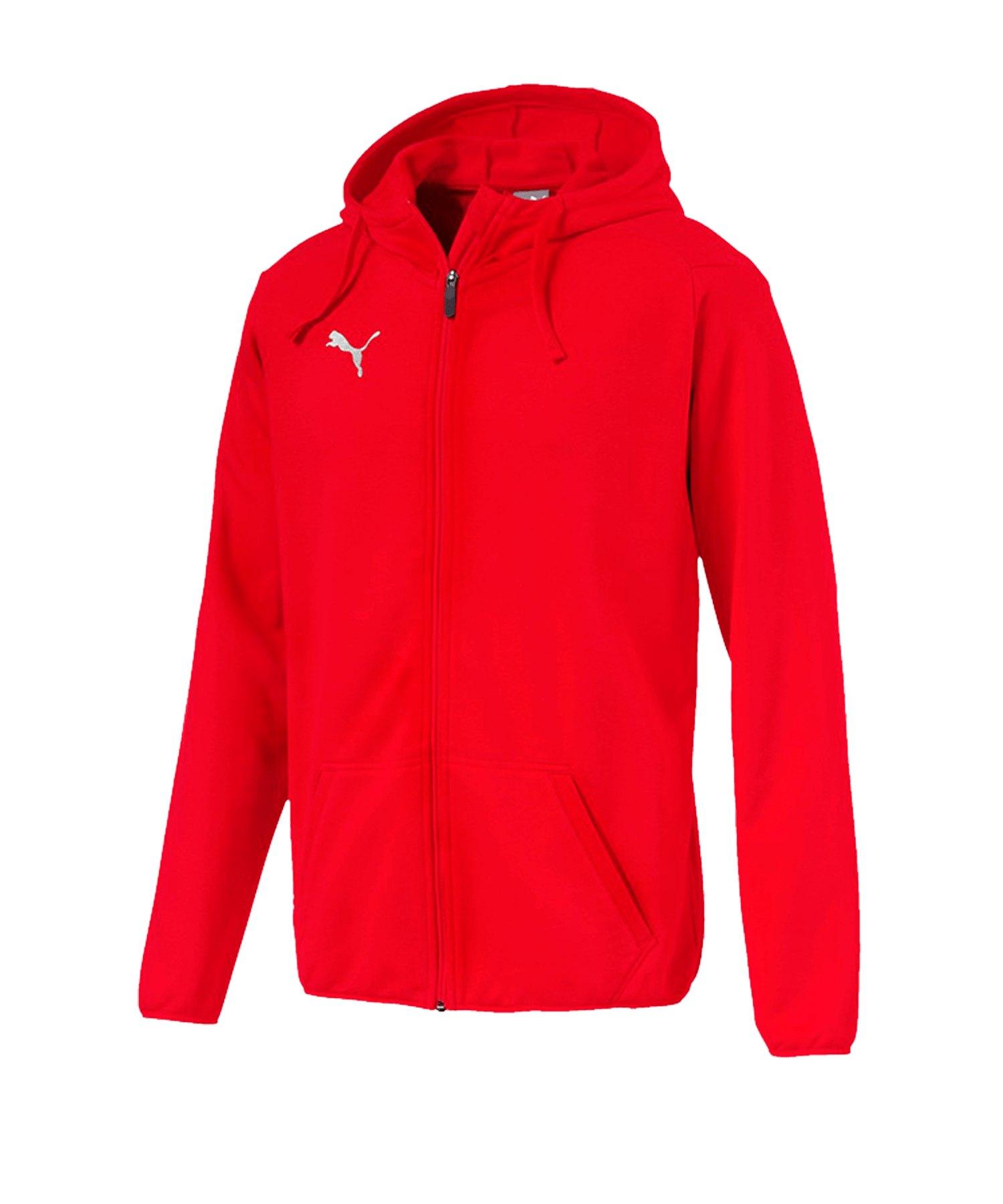 Casual Rot Trainingsjacke Liga Jacket F01 Teamsport Jacke Puma 5wAUpqx7q