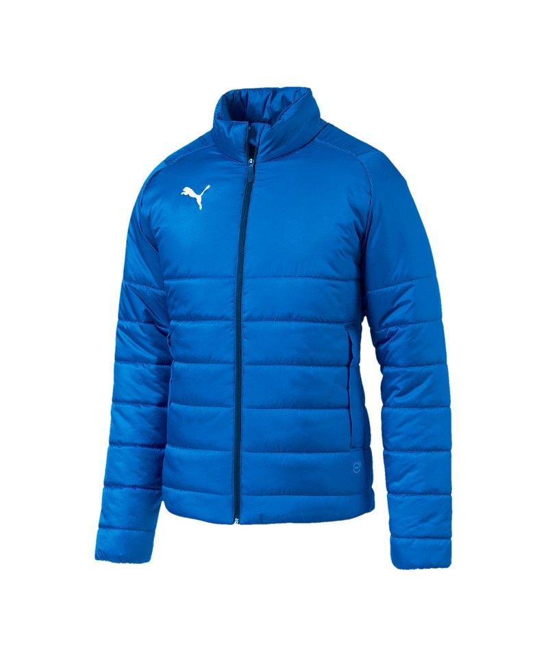 f8f523441535 PUMA LIGA Casuals Padded Jacket Jacke Blau F002 - blau