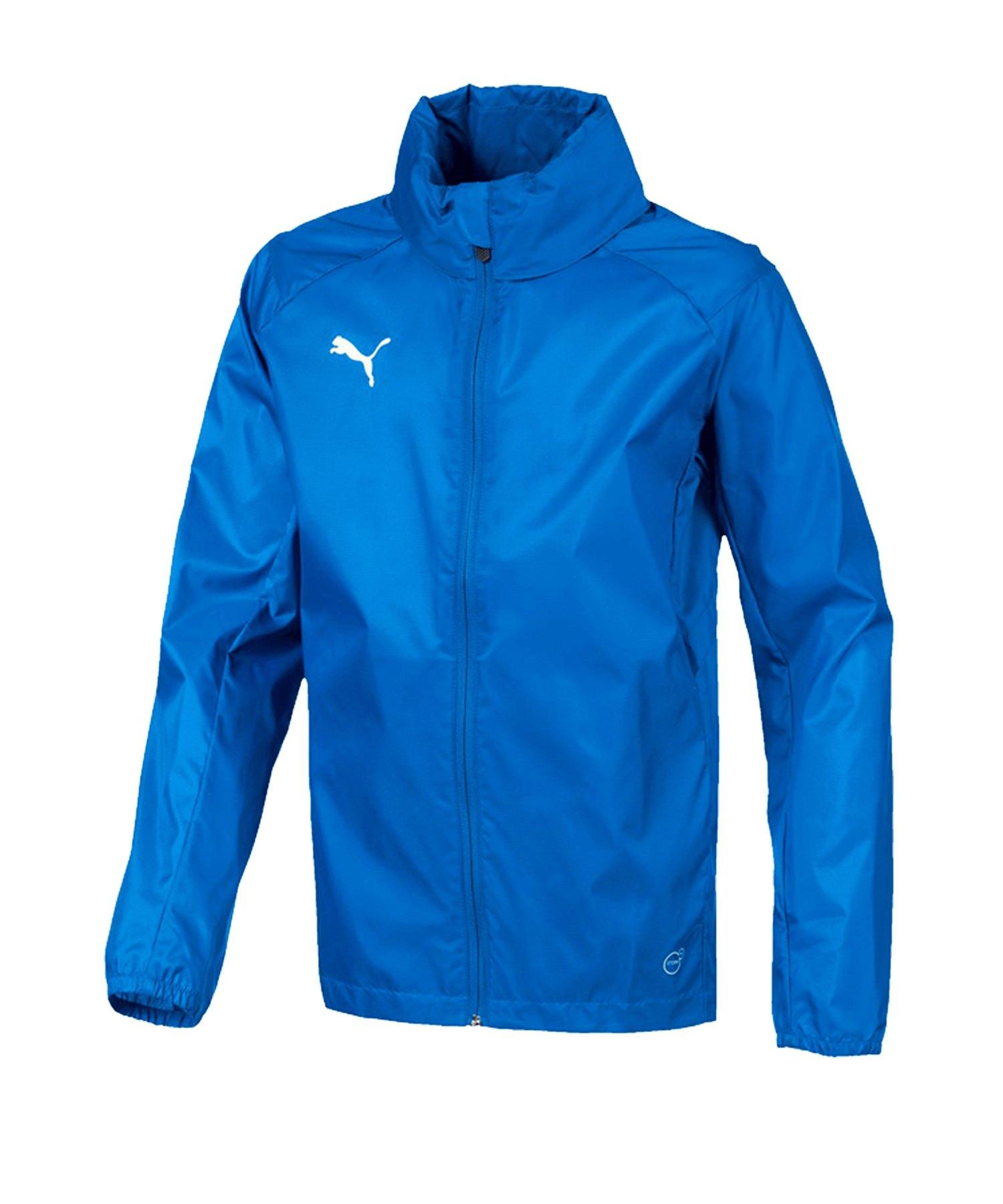 f9baaf8bf417 PUMA LIGA Training Rain Jacket Regenjacke Kids F02 - blau