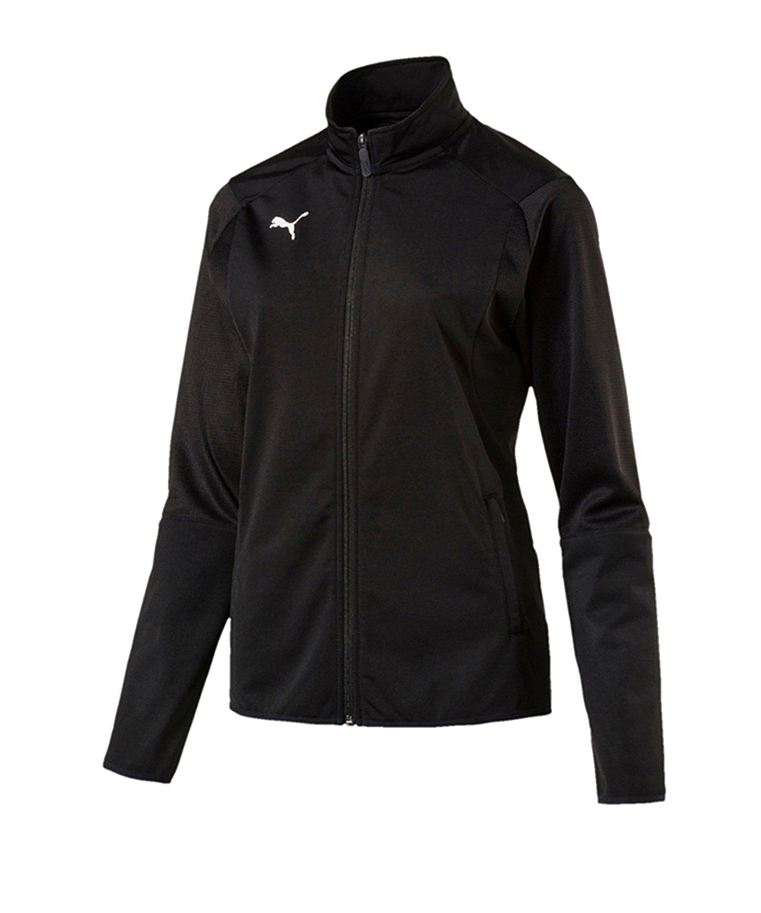 PUMA LIGA Trainingsjacke Damen Schwarz F03