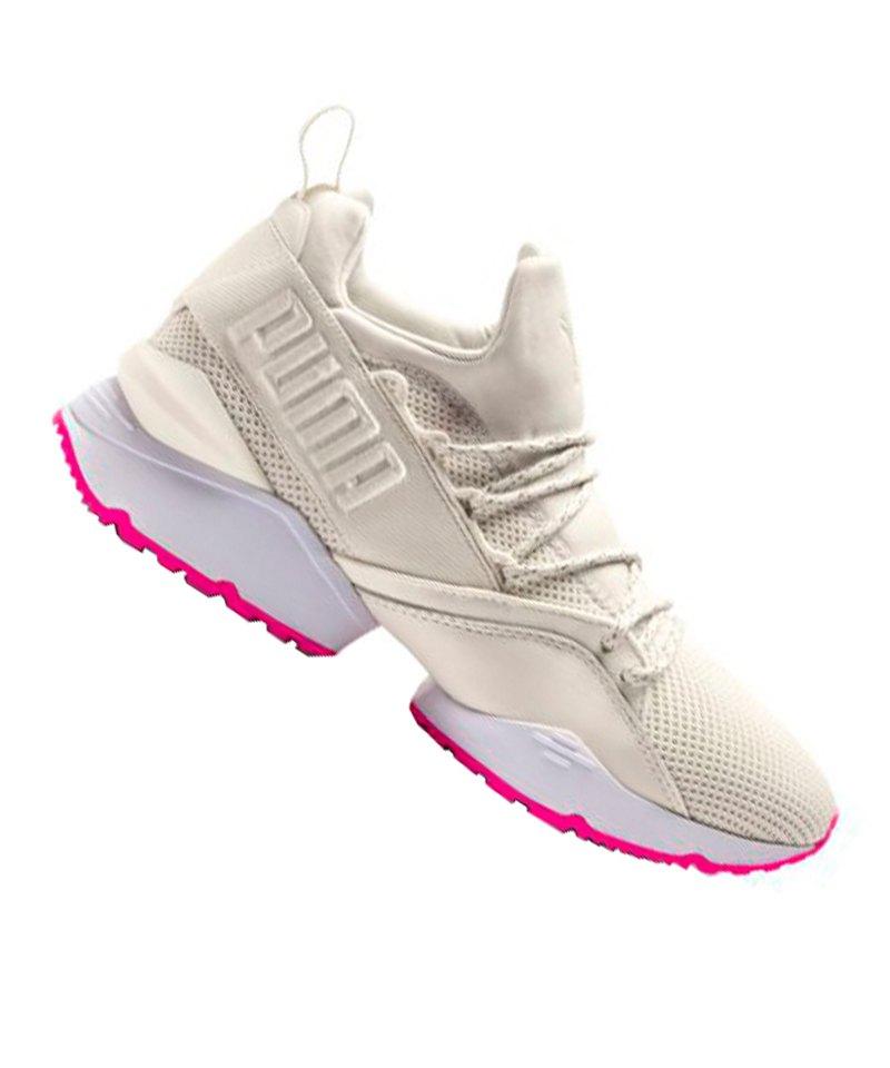 ca829b0bf9913a PUMA Muse Maia Street 2 Sneaker Damen Weiss F01 - weiss