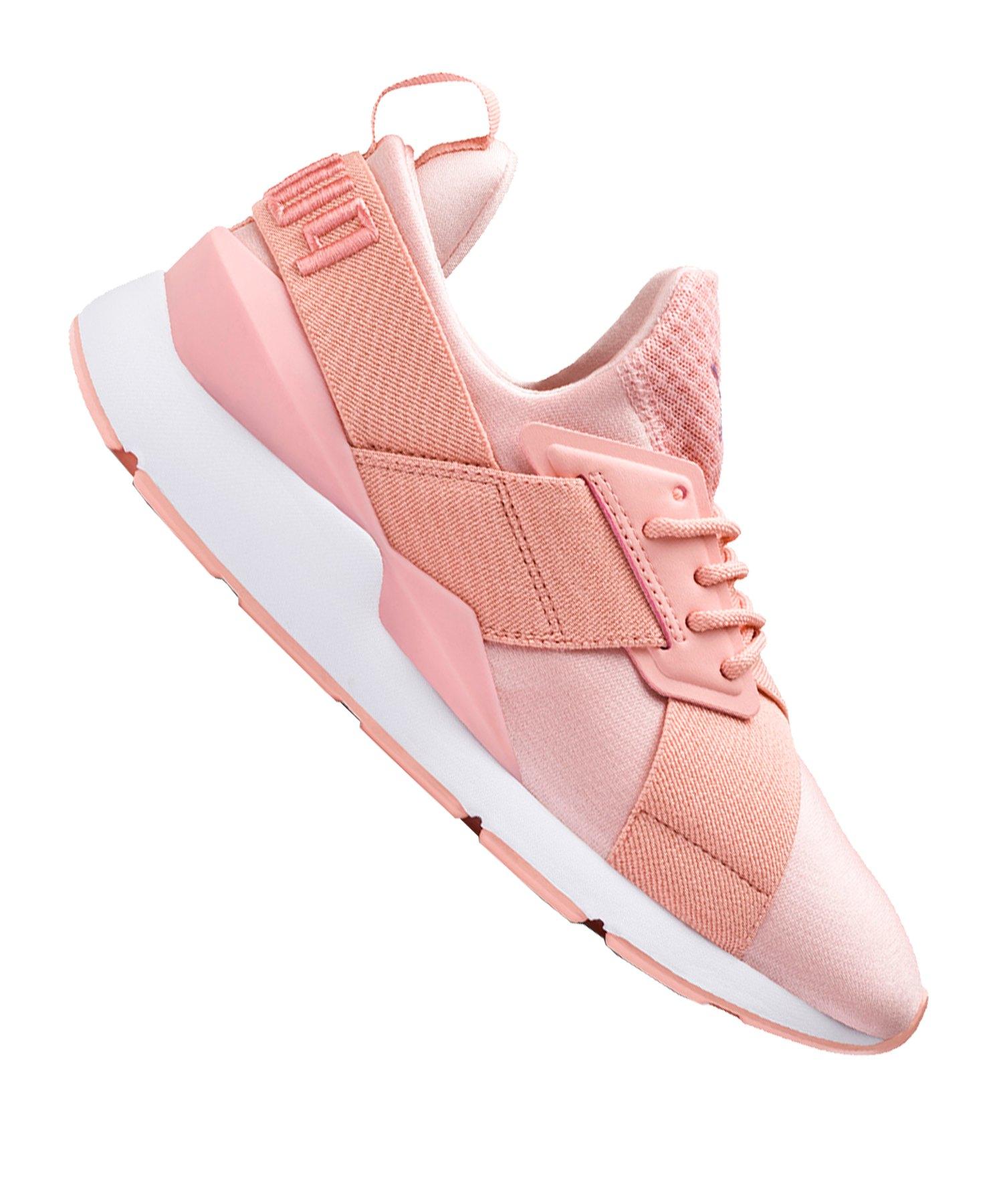 PUMA Muse Satin EP Sneaker Damen Rosa F12