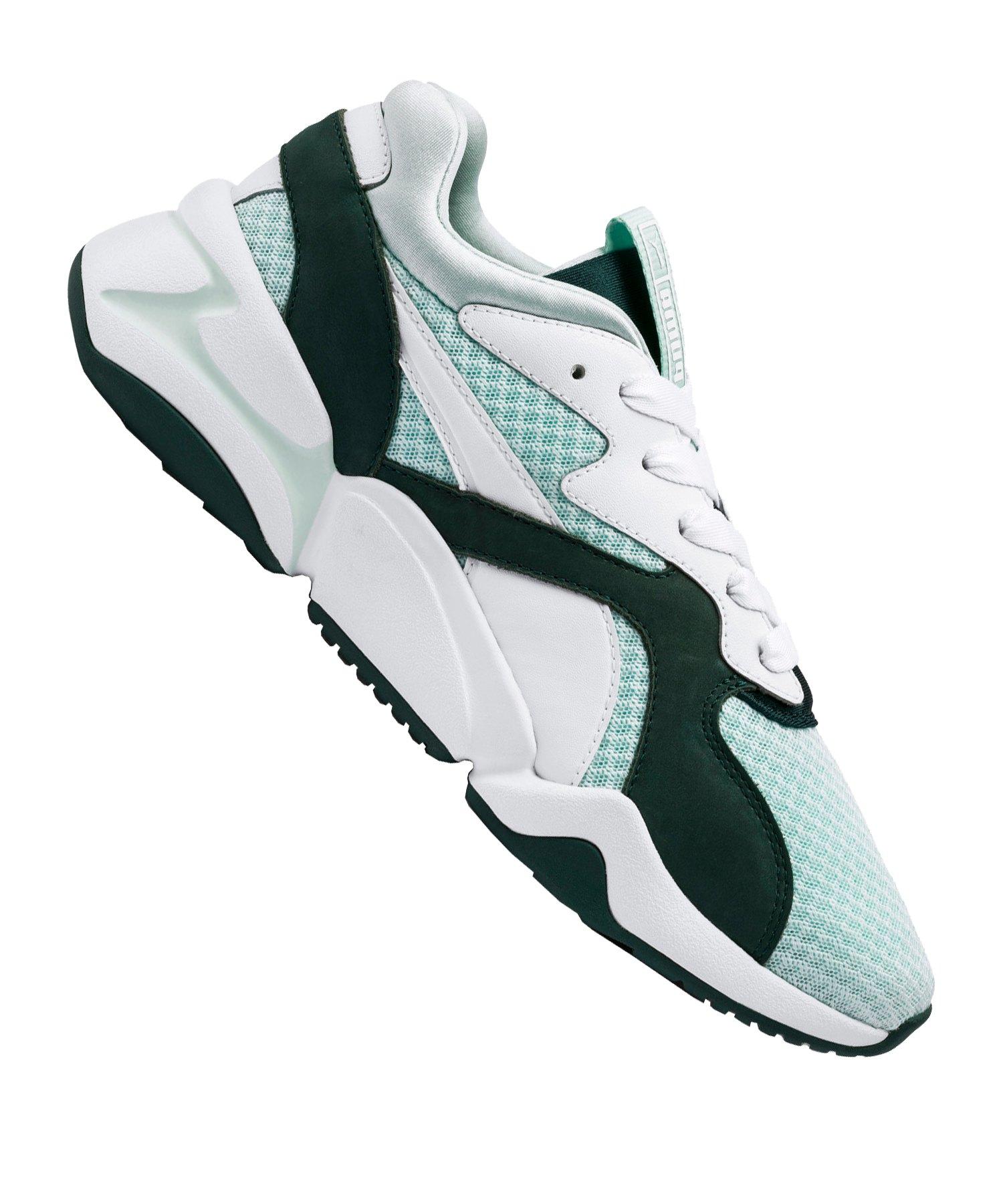 PUMA Nova 90s Sneaker Damen Weiss Grün F02