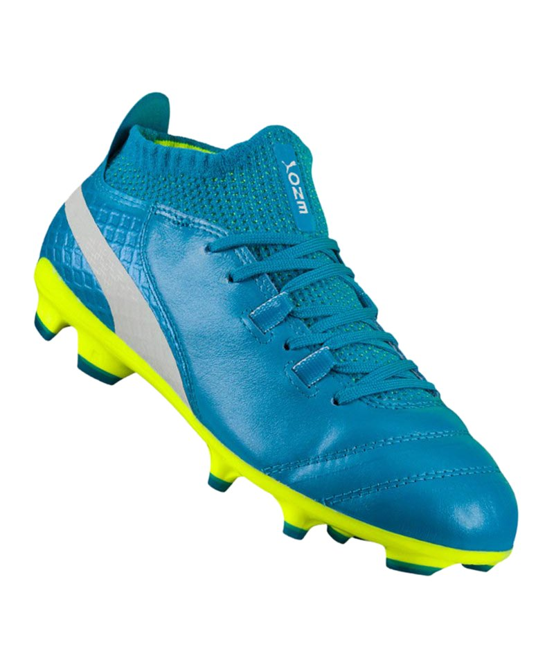 0a6d3c050a416 PUMA ONE 17.1 FG Jr Kids Blau F02