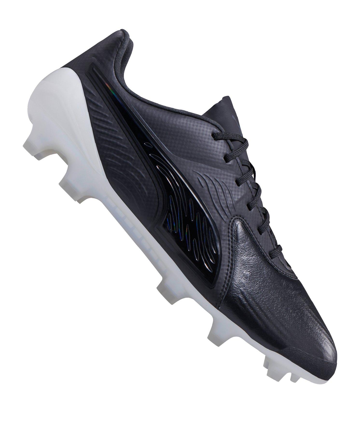 Puma One 19.1 CC FGAG Herren Fußballschuhe Nockenschuh blau rot schwarz
