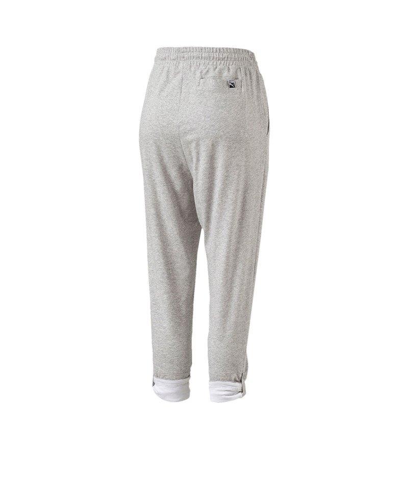 PUMA Roll-up pant Hose Damen Grau F04   Streetwear   Jogginghose ... ea503caf0b