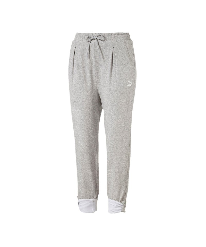 PUMA Roll-up pant Hose Damen Grau F04 | Lifestyle