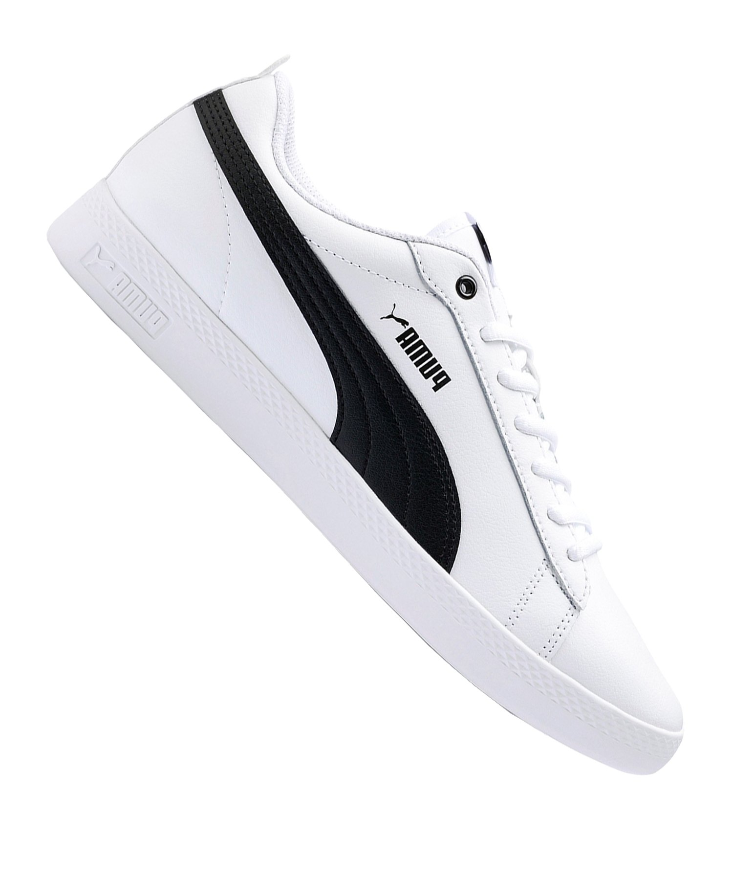 PUMA Smash v2 L Sneaker Damen Weiss F01