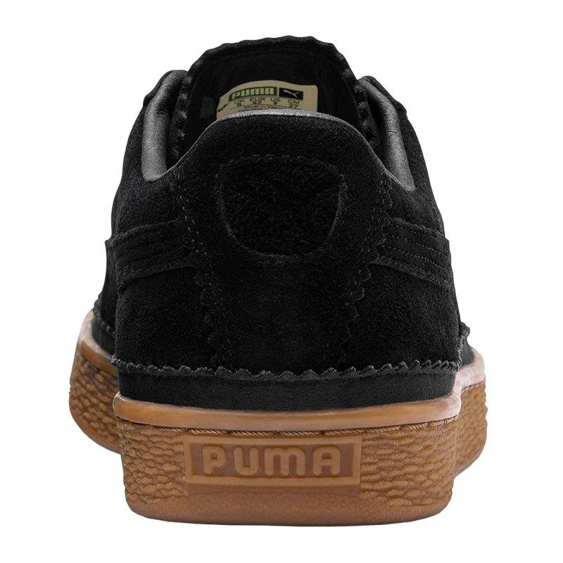 Puma Sneaker F01 Classic Brogue Suede Schwarz DE2WHI9Y