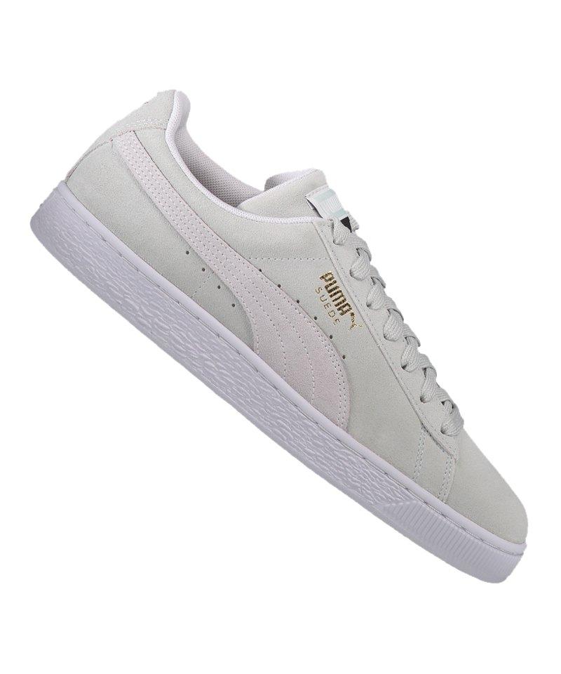 Puma Weiss Suede F09 Sneaker Classic Blau 0P8Oknw