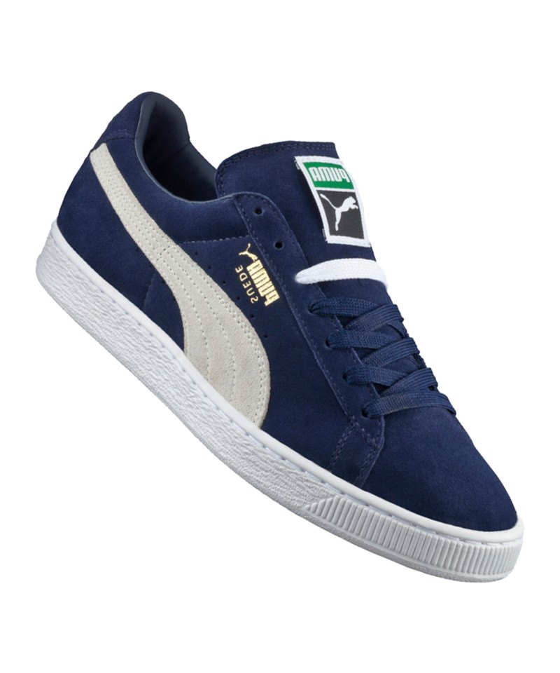 puma suede classic sneaker blau weiss f51 herren sneaker m nner men lifestyle freizeit. Black Bedroom Furniture Sets. Home Design Ideas