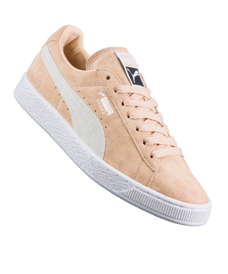 puma suede classic sneaker damen beige f08 schuh shoe lifestyle freizeit frauensneaker. Black Bedroom Furniture Sets. Home Design Ideas
