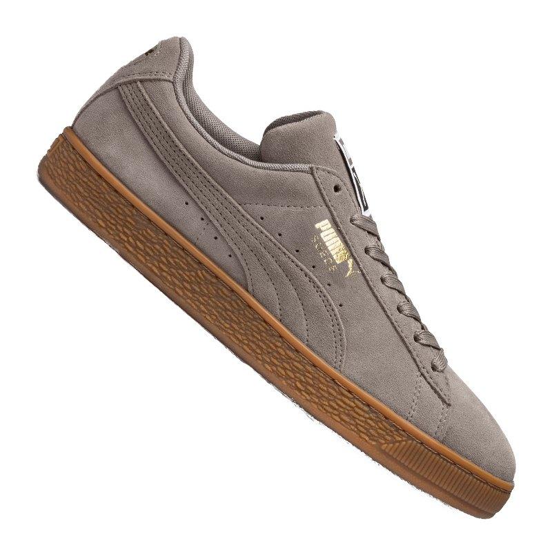 PUMA Suede Classic Sneaker Grau Gold F47