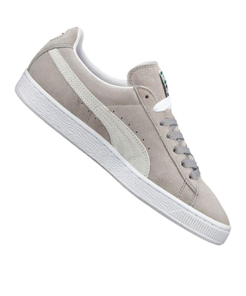 on sale 1c0c5 39050 PUMA Suede Classic Sneaker Grau Weiss F66