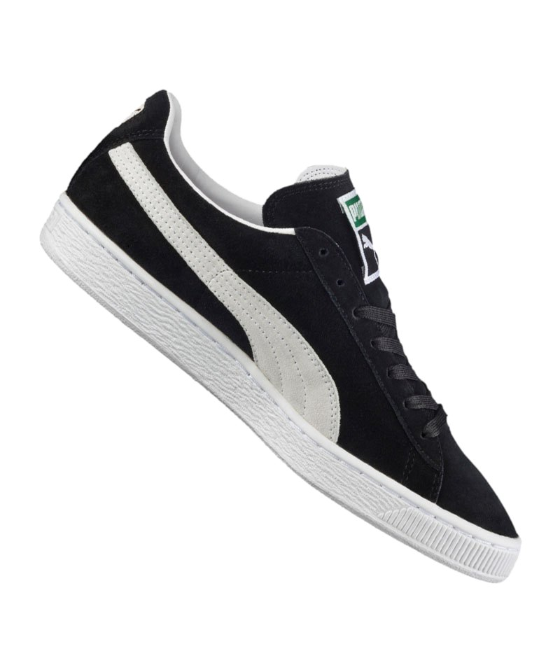 competitive price bad46 81a3d PUMA Suede Classic Sneaker Schwarz Weiss F03