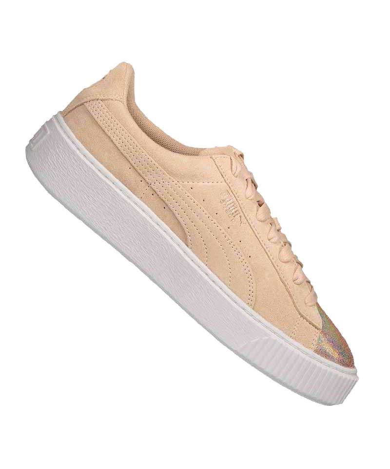 PUMA Suede Platform LunaLux Sneaker Damen F02