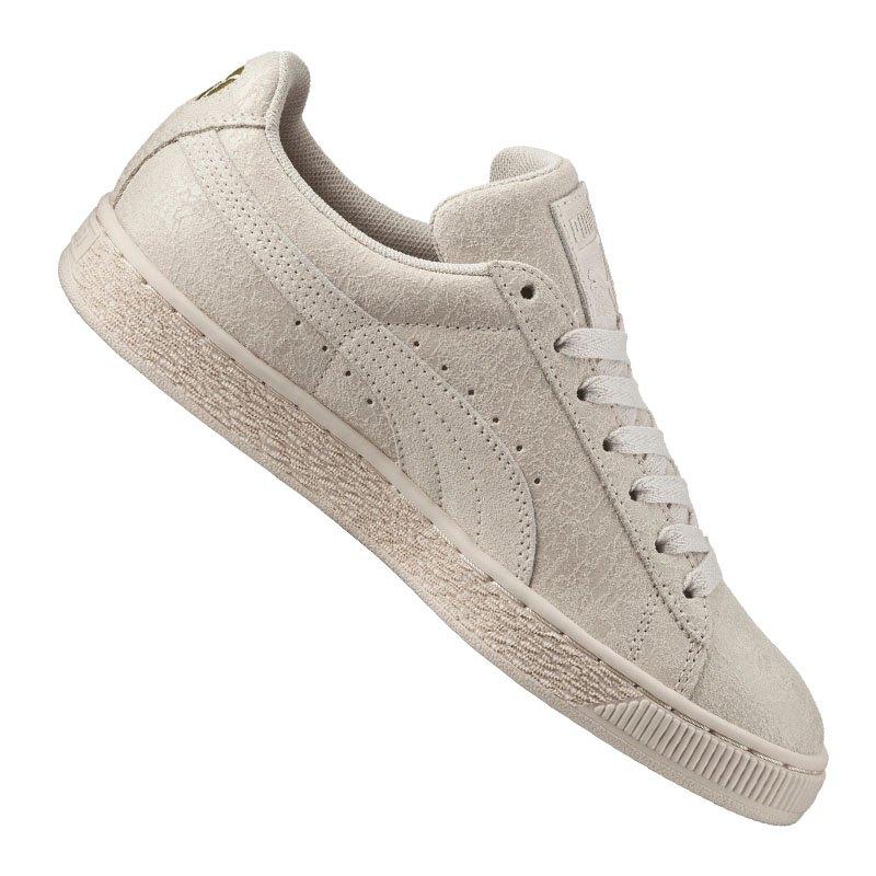 puma suede remaster sneaker damen weiss f02 schuh shoe lifestyle freizeit streetwear. Black Bedroom Furniture Sets. Home Design Ideas