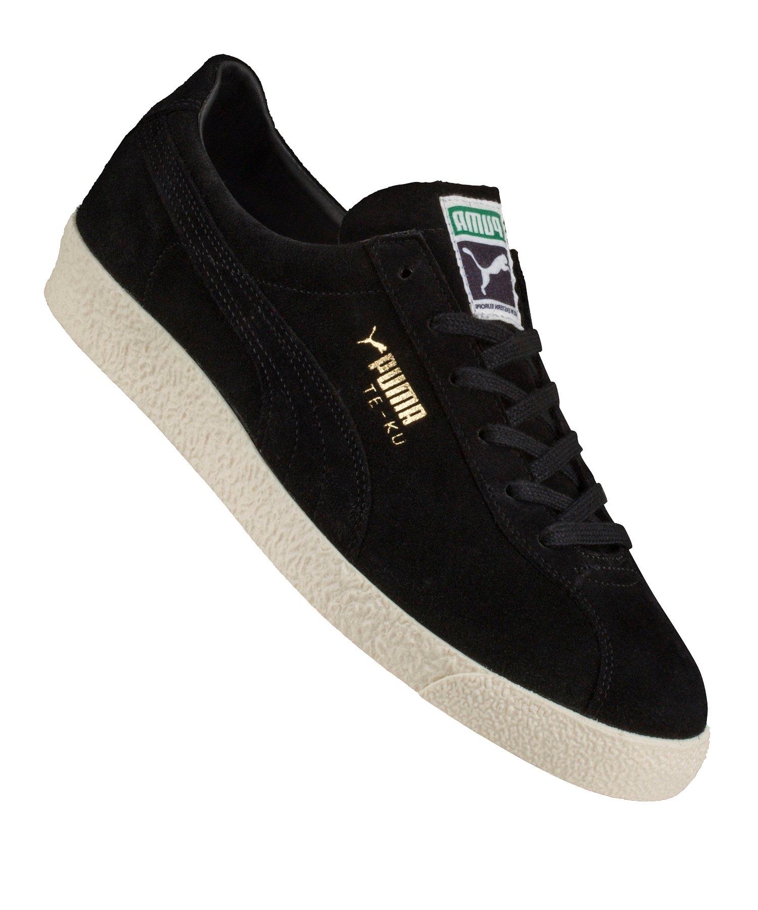 Kauf authentisch Mode klare Textur PUMA Te-Ku Sneaker Schwarz Gold F04