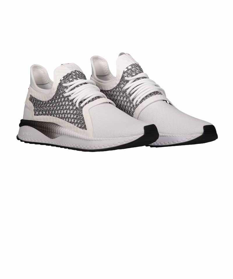35f7cc49e0b4 PUMA Tsugi Netfit v2 Sneaker Weiss Schwarz F02   Lifestyle ...