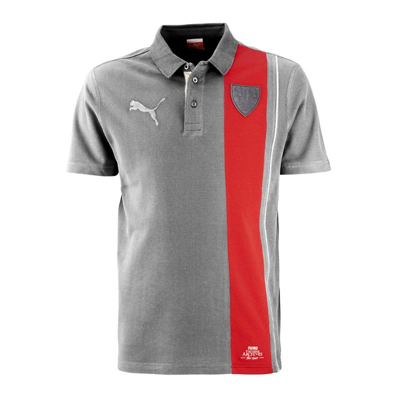 puma vfb stuttgart poloshirt polo archives schwarz rot f01. Black Bedroom Furniture Sets. Home Design Ideas