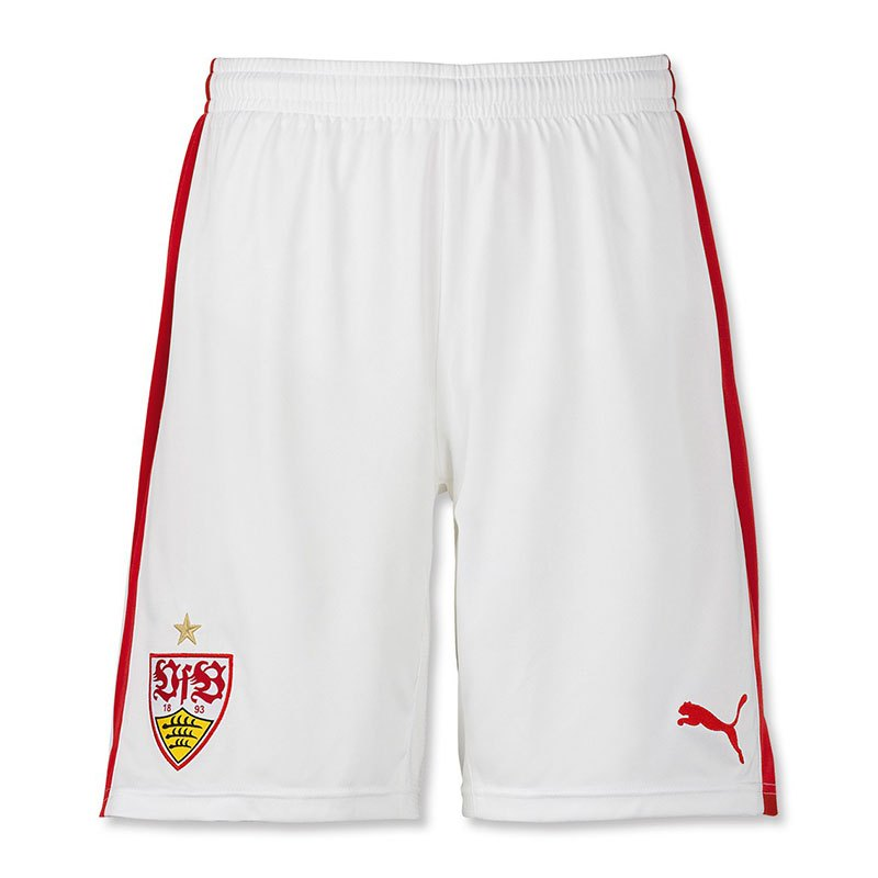 puma vfb stuttgart short home 2016 2017 weiss f01 fanshop bundesliga hose heim. Black Bedroom Furniture Sets. Home Design Ideas