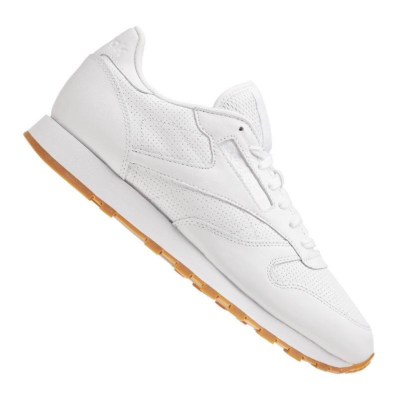 Reebok CL Leather PG Sneaker Weiss Grau