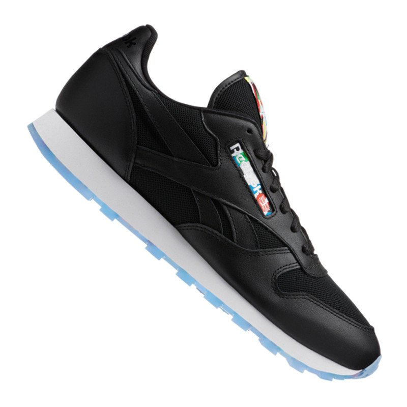 reebok classic leather bf sneaker schwarz weiss schuh. Black Bedroom Furniture Sets. Home Design Ideas