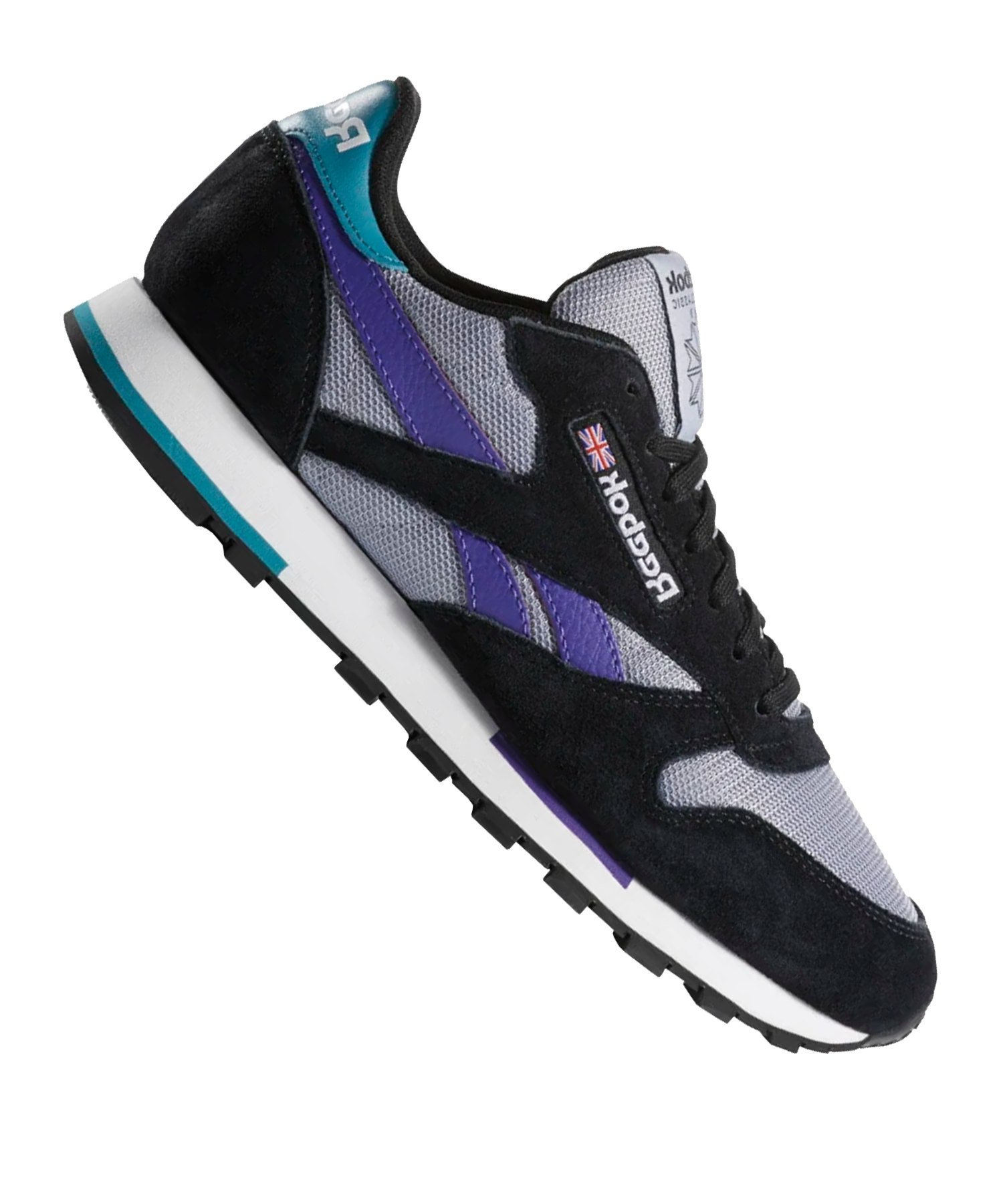 new styles 7151e 03a84 Reebok Classic Leather MU Sneaker Schwarz Lila