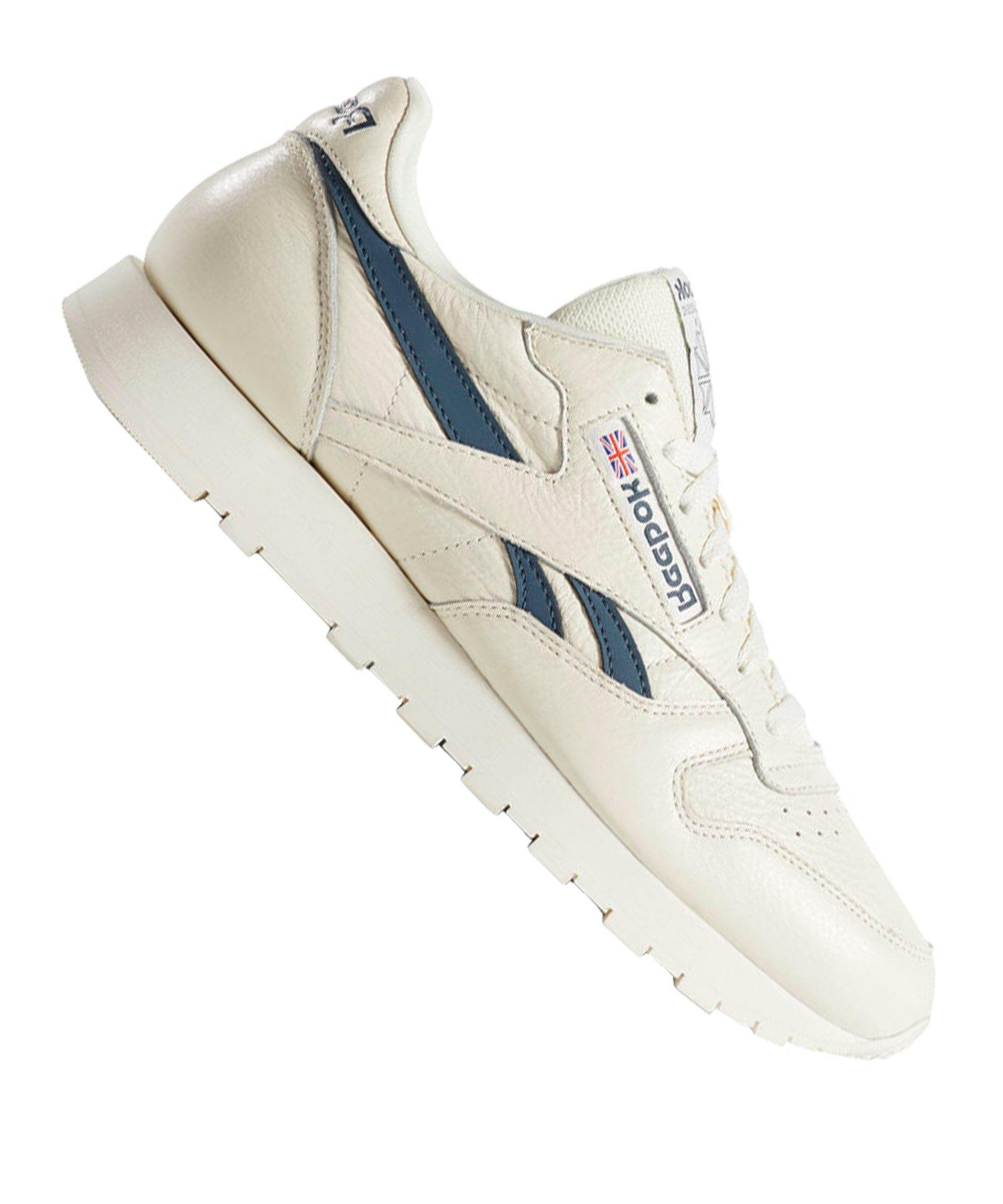 Reebok Classic Leather MU Sneaker Weiss Blau