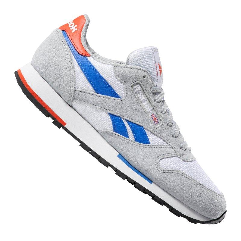 7fd90f73220c3 Reebok Classic Leather MU Sneaker Weiss Grau - weiss