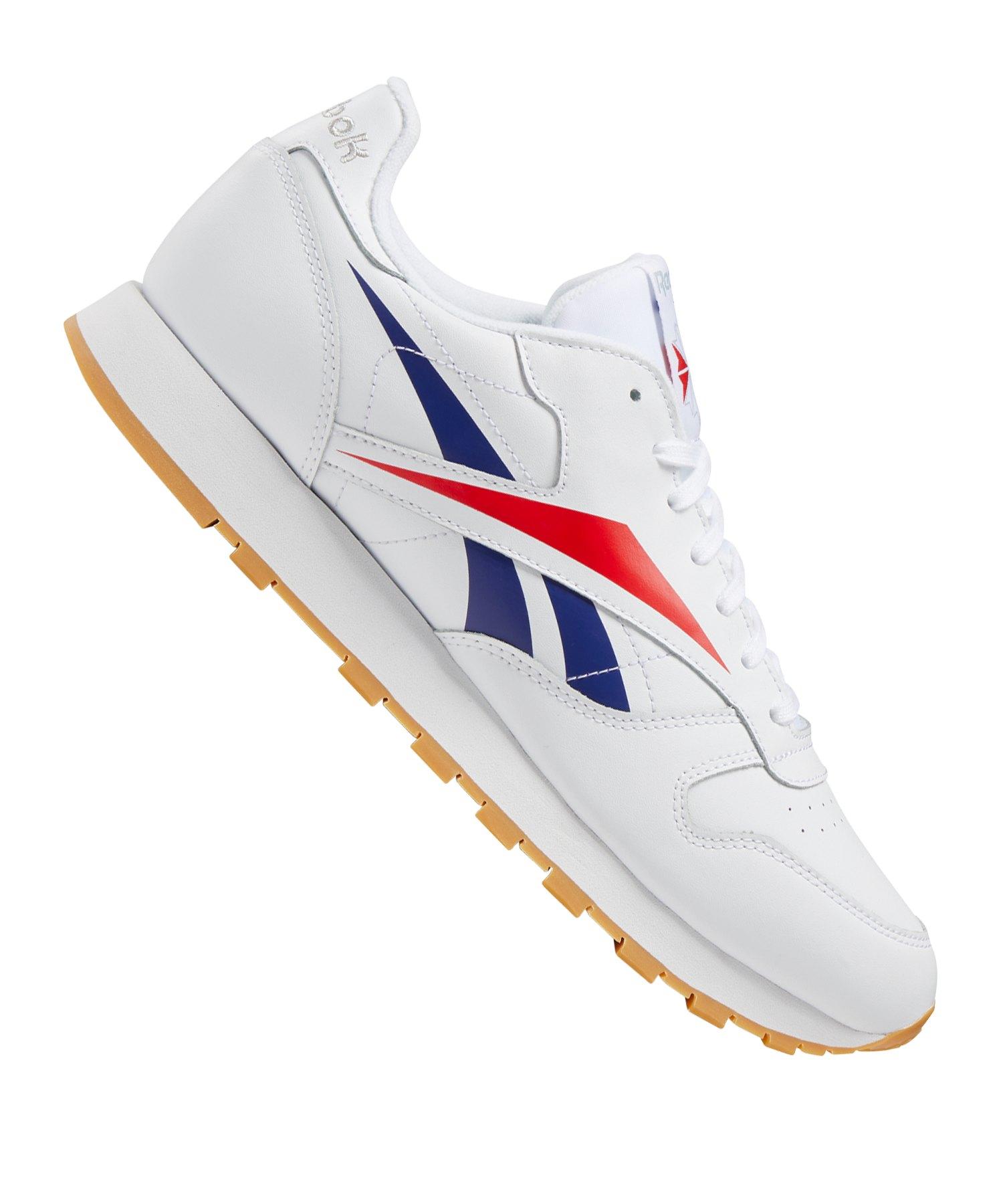 on sale 2cb27 1f095 Reebok Classic Leather MU Sneaker Weiss