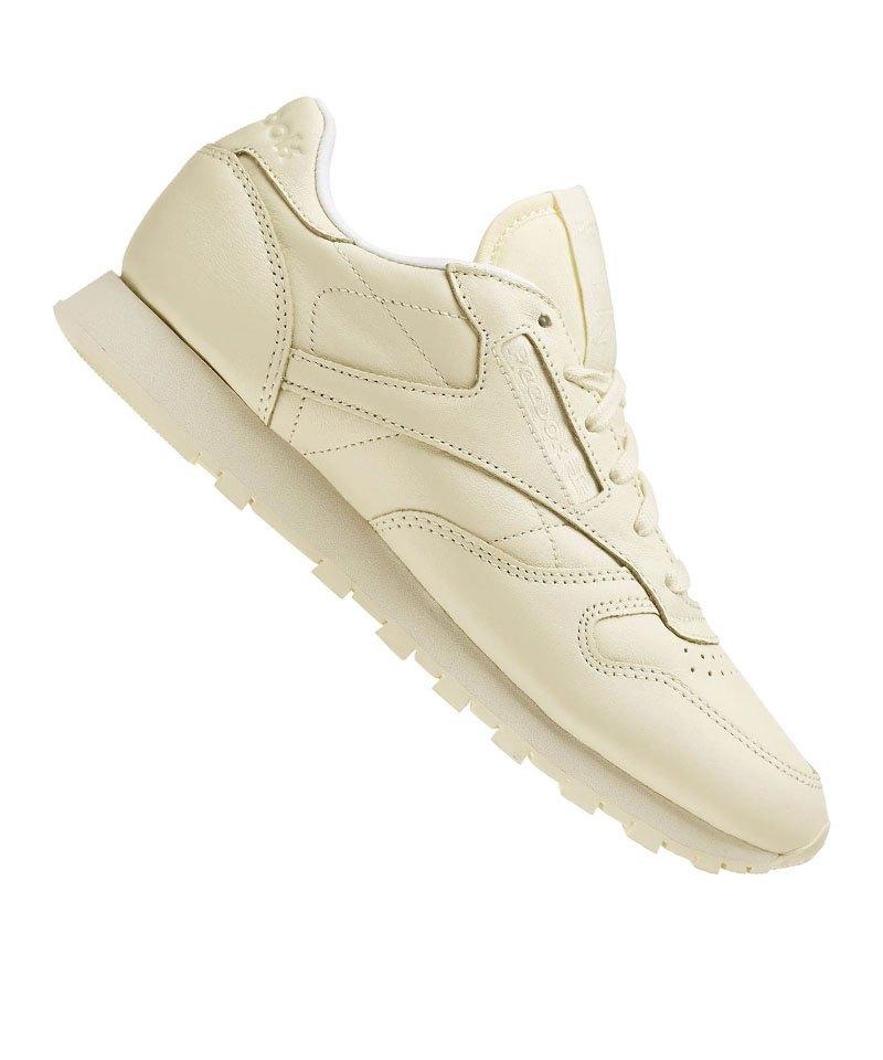the latest 2f028 54d3d Reebok Classic Leather Pastels Sneaker Damen Gelb