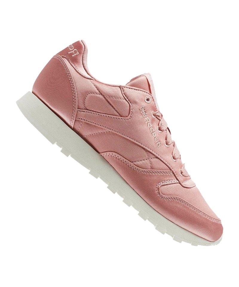 Reebok Classic Leather Satin Sneaker Damen