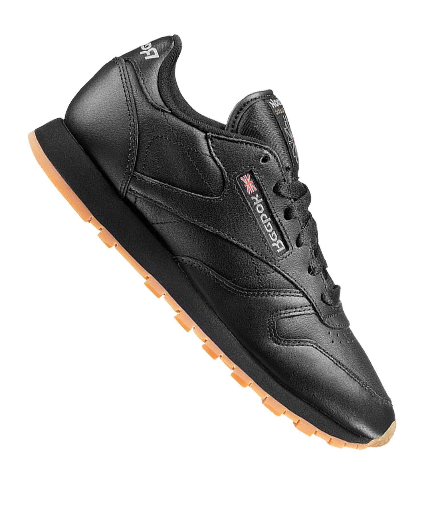reebok damen sneaker classic schwarz