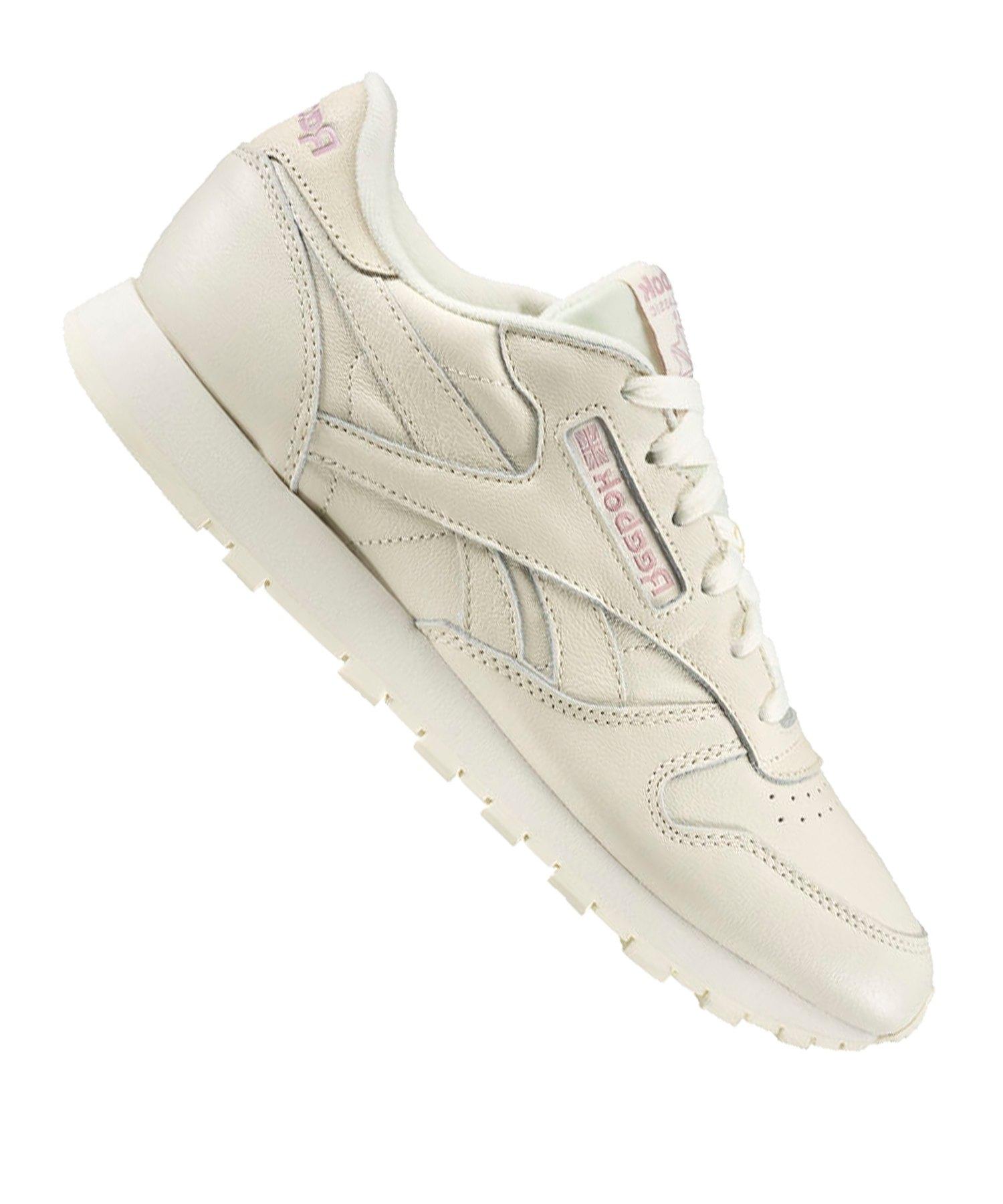 meet 1fb9f 20514 Reebok Classic Leather Sneaker Damen Weiss