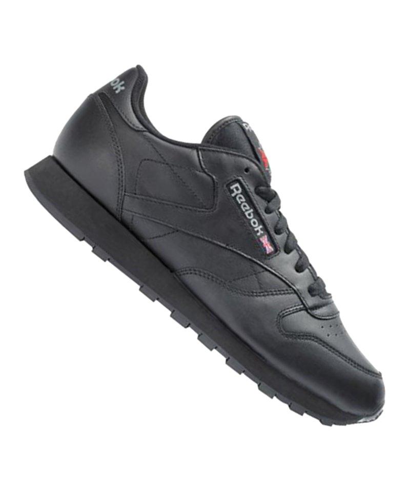 Reebok Classic Leather Sneaker Wmns Schwarz Damenschuh Schuh