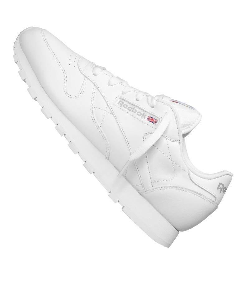 Sneaker Leather Weiss Classic Reebok Damen rdCBeoxW