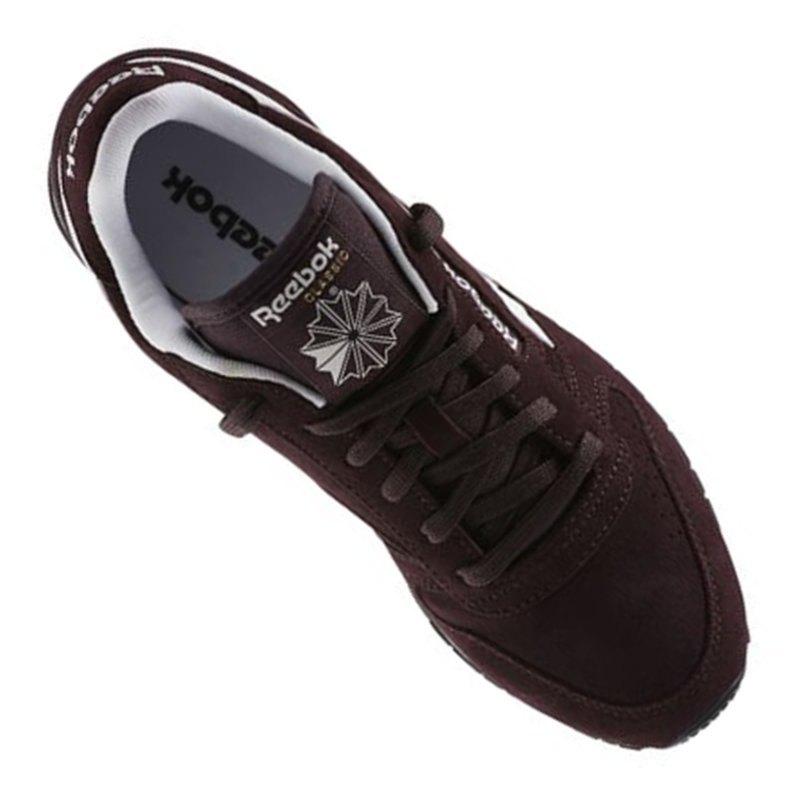 reebok classic leather suede sneaker damen braun braun. Black Bedroom Furniture Sets. Home Design Ideas