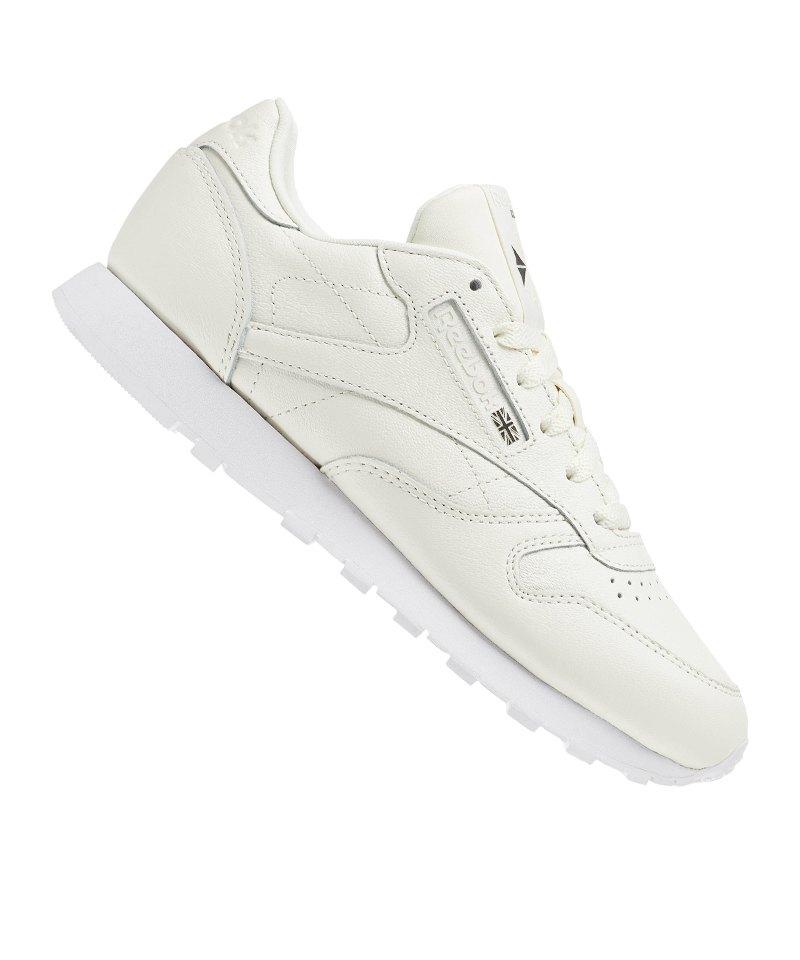 competitive price 23e59 da91a Reebok Classic Leather X Face Sneaker Damen Beige