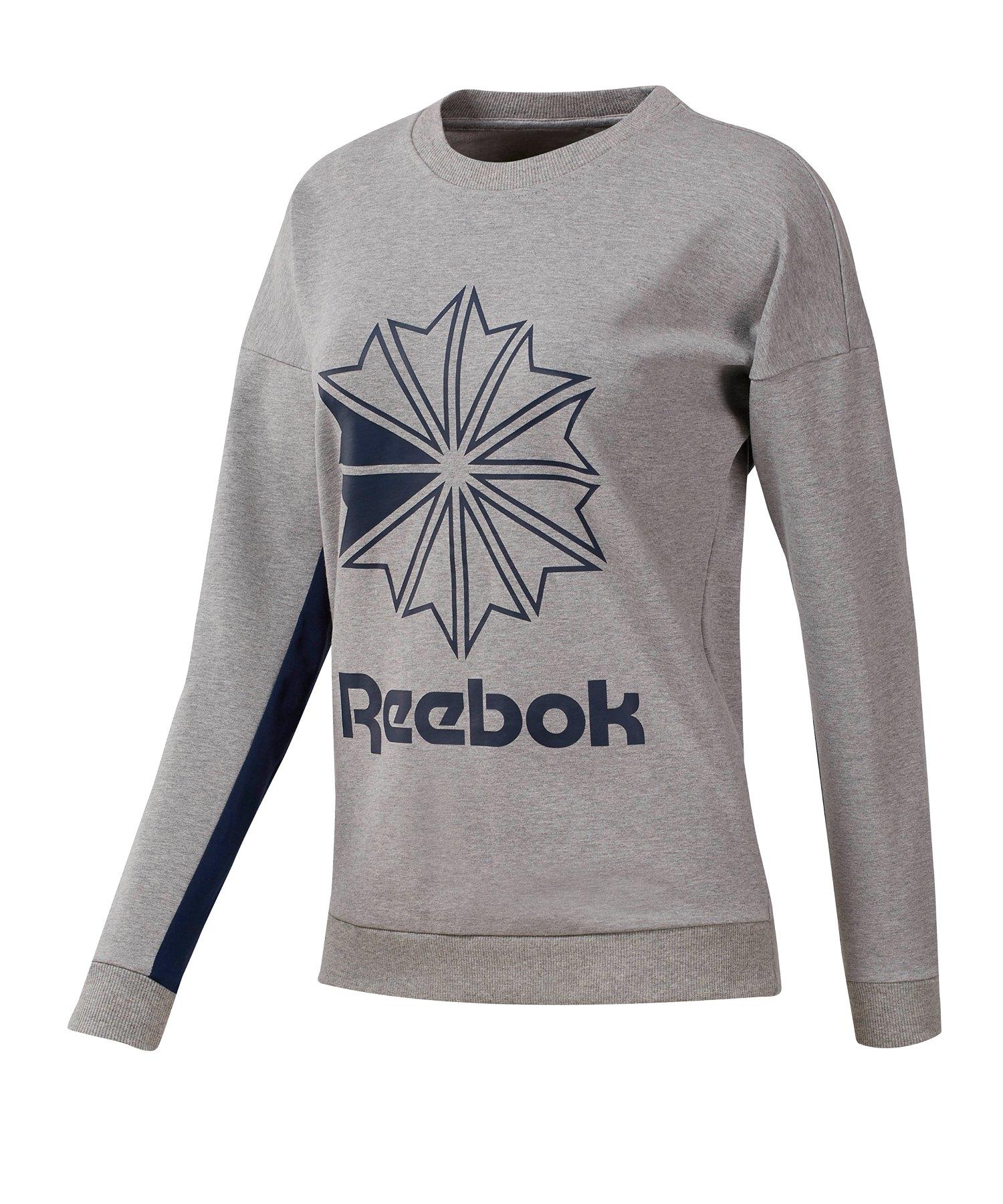 Reebok Frauen 1895 T Shirt Fitness & Training Grau
