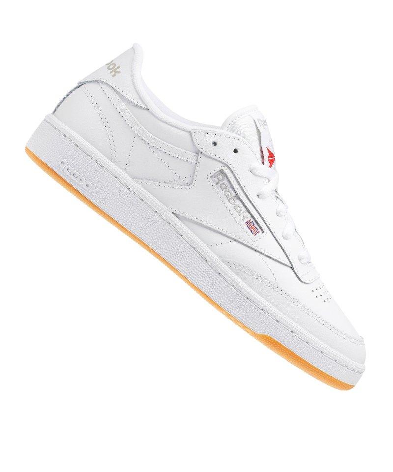 1003ecdf7e7387 Reebok Club C 85 Sneaker Damen Weiss - weiss