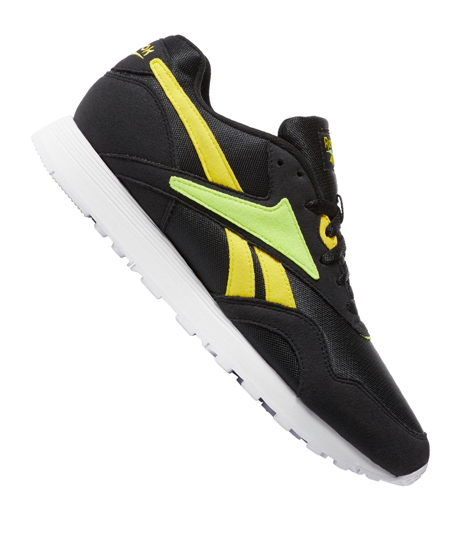 best service a184e 793ef Reebok Rapide MU Sneaker Schwarz Gelb