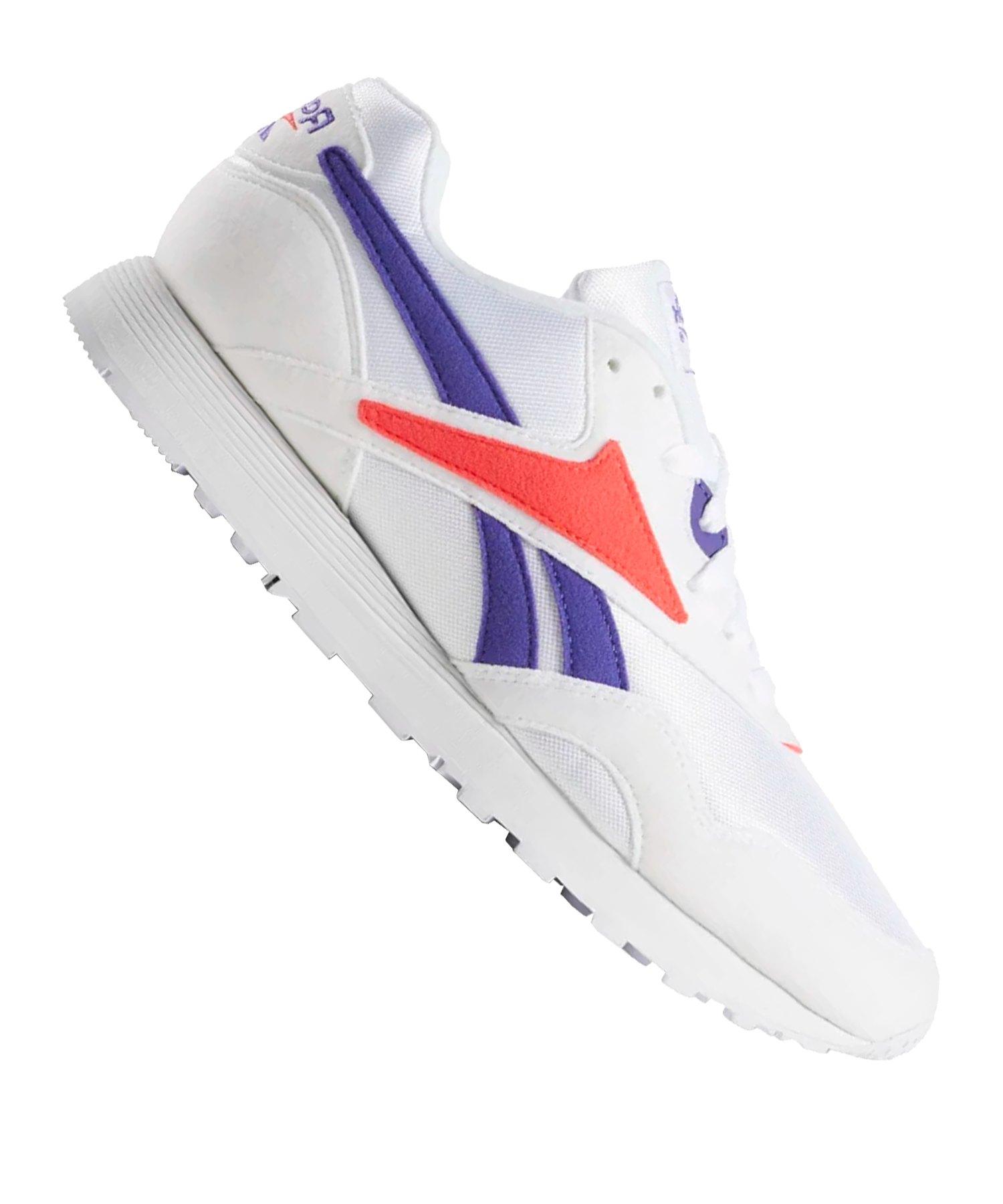 Reebok Rapide MU Sneaker Weiss Lila Rot