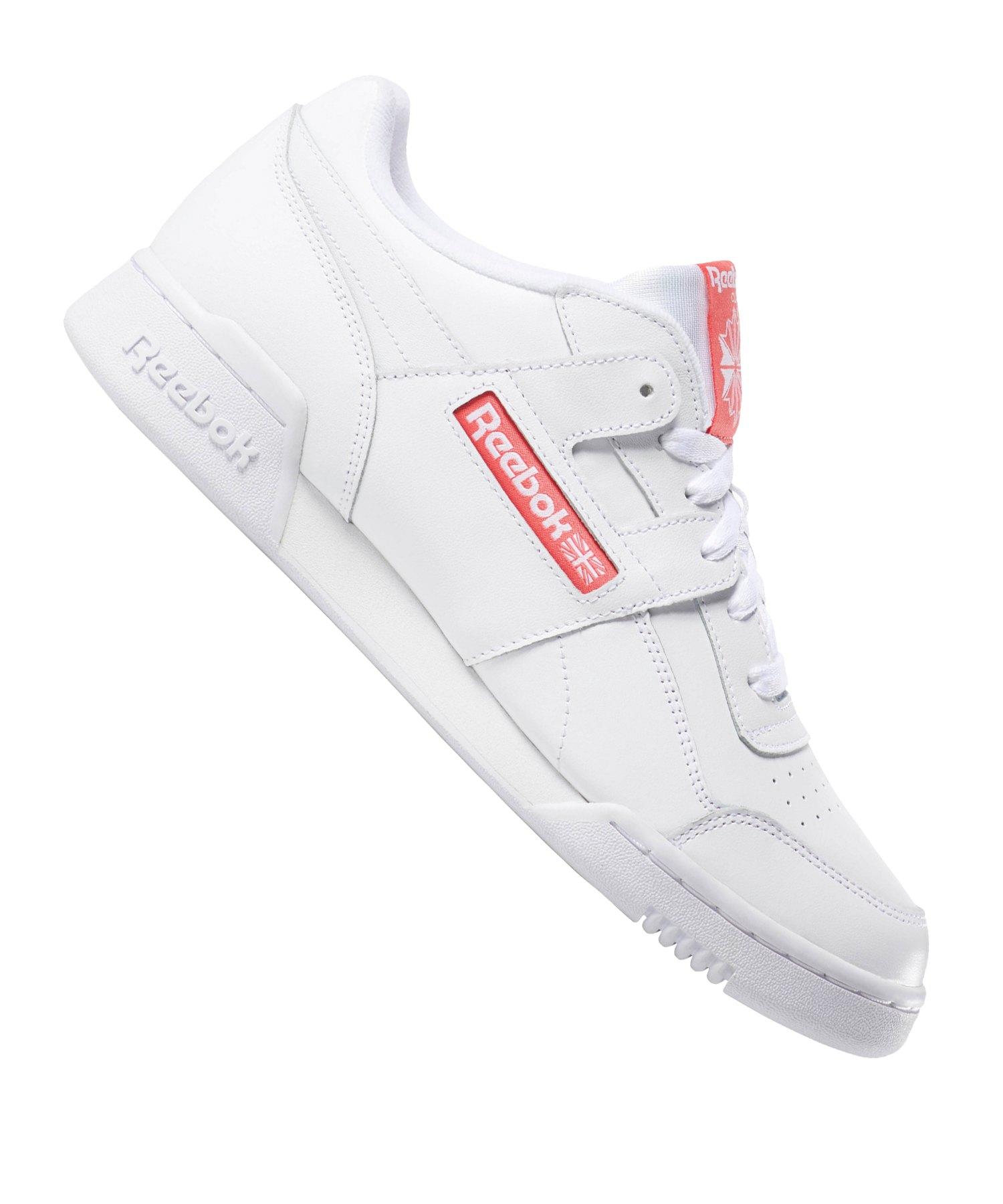 Reebok Workout Plus Damen Sneaker Weiß Schuhe |