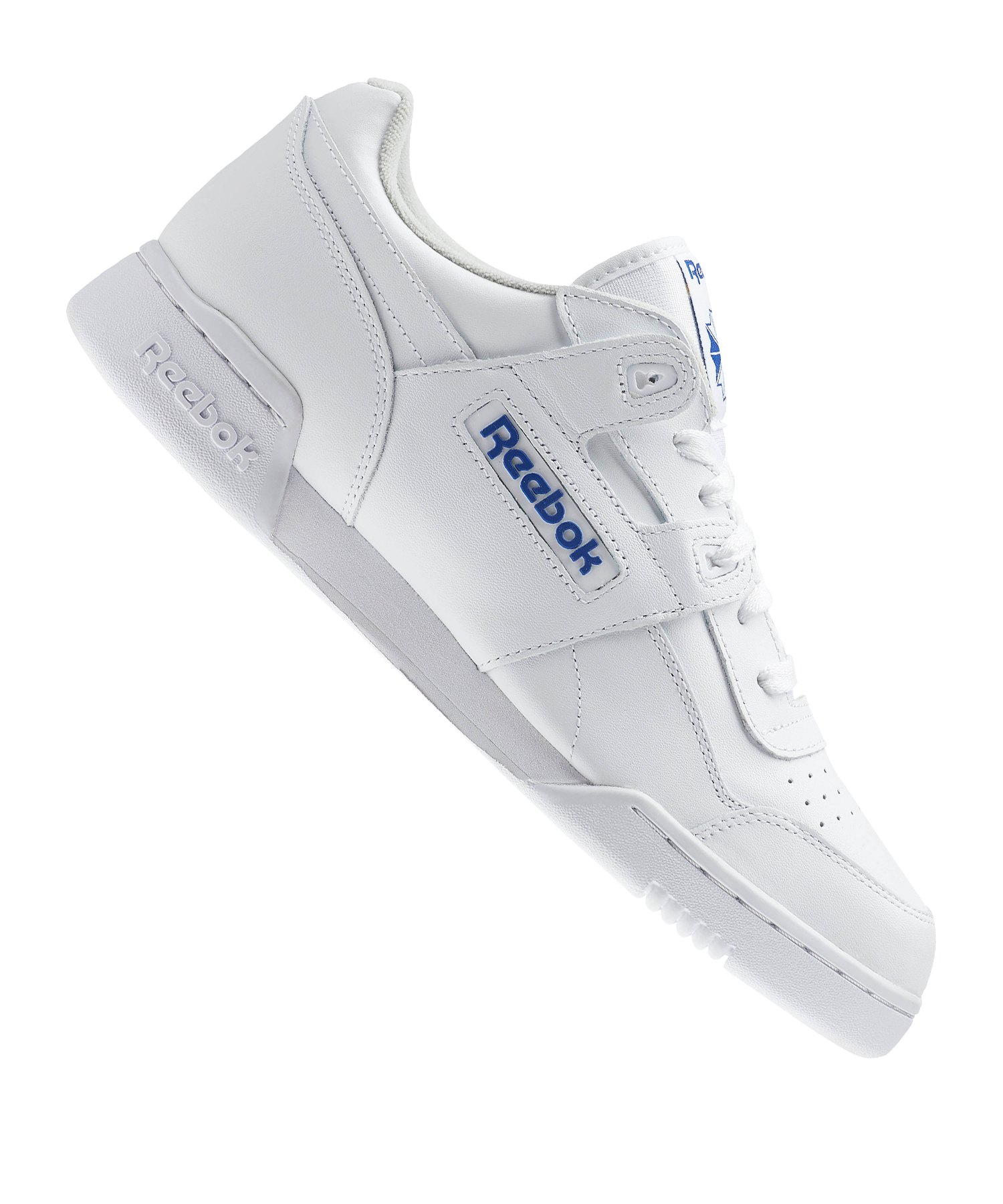 Reebok Workout Plus Sneaker Weiss Blau