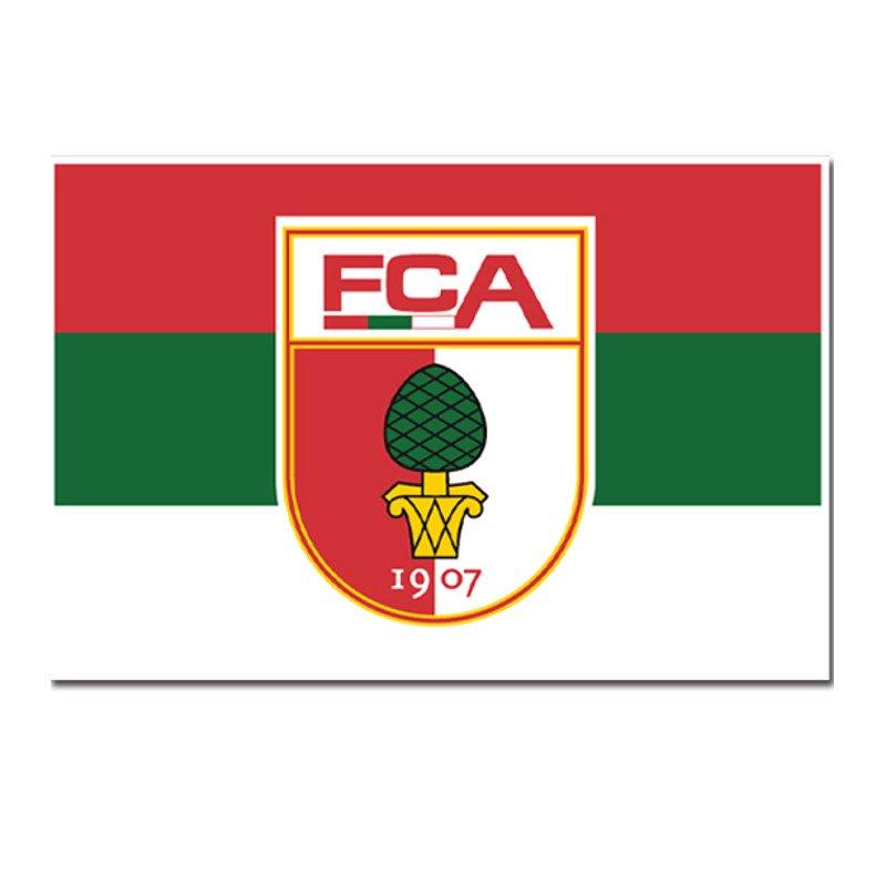 FC Augsburg Hissfahne 150x200 cm - gruen