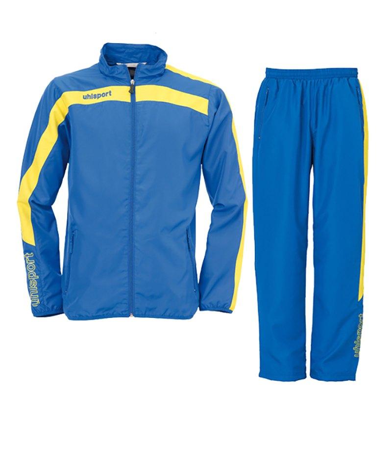 Uhlsport Liga Präsentationsanzug Blau Gelb