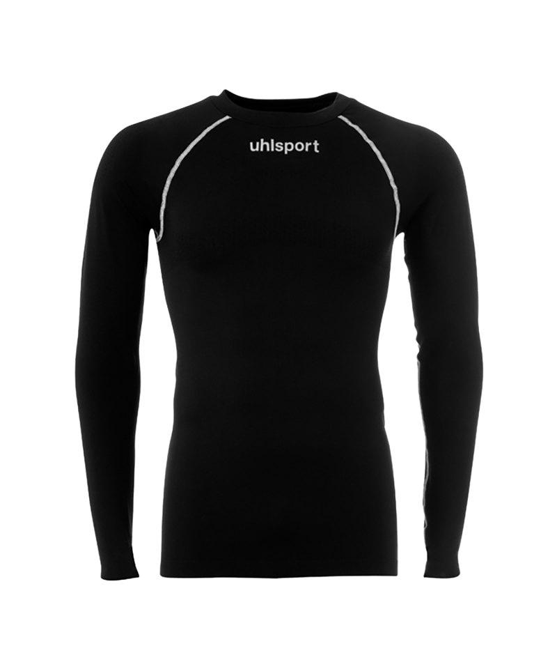 buy online 3ee07 ac3b9 Uhlsport Thermo Shirt langarm Schwarz F02